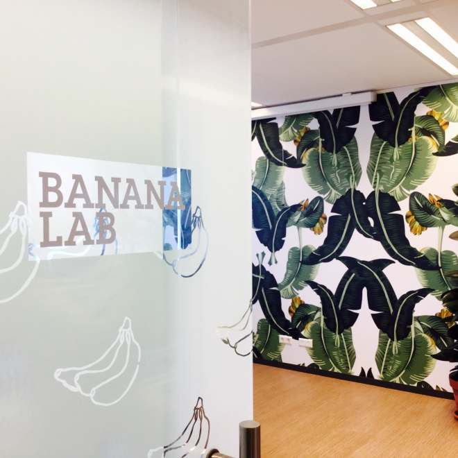 Banana Lab bij Oikocredit/ Max Havelaar
